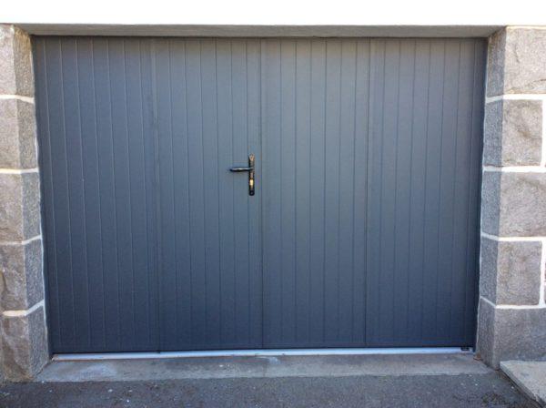 porte de garage battante pvc