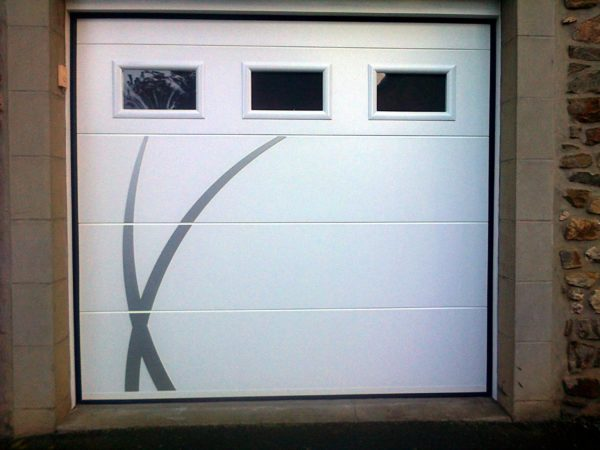 porte garage pvc dinan